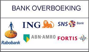 Doneren per bank